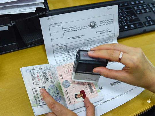 UAE officials clarify rules on expired visas