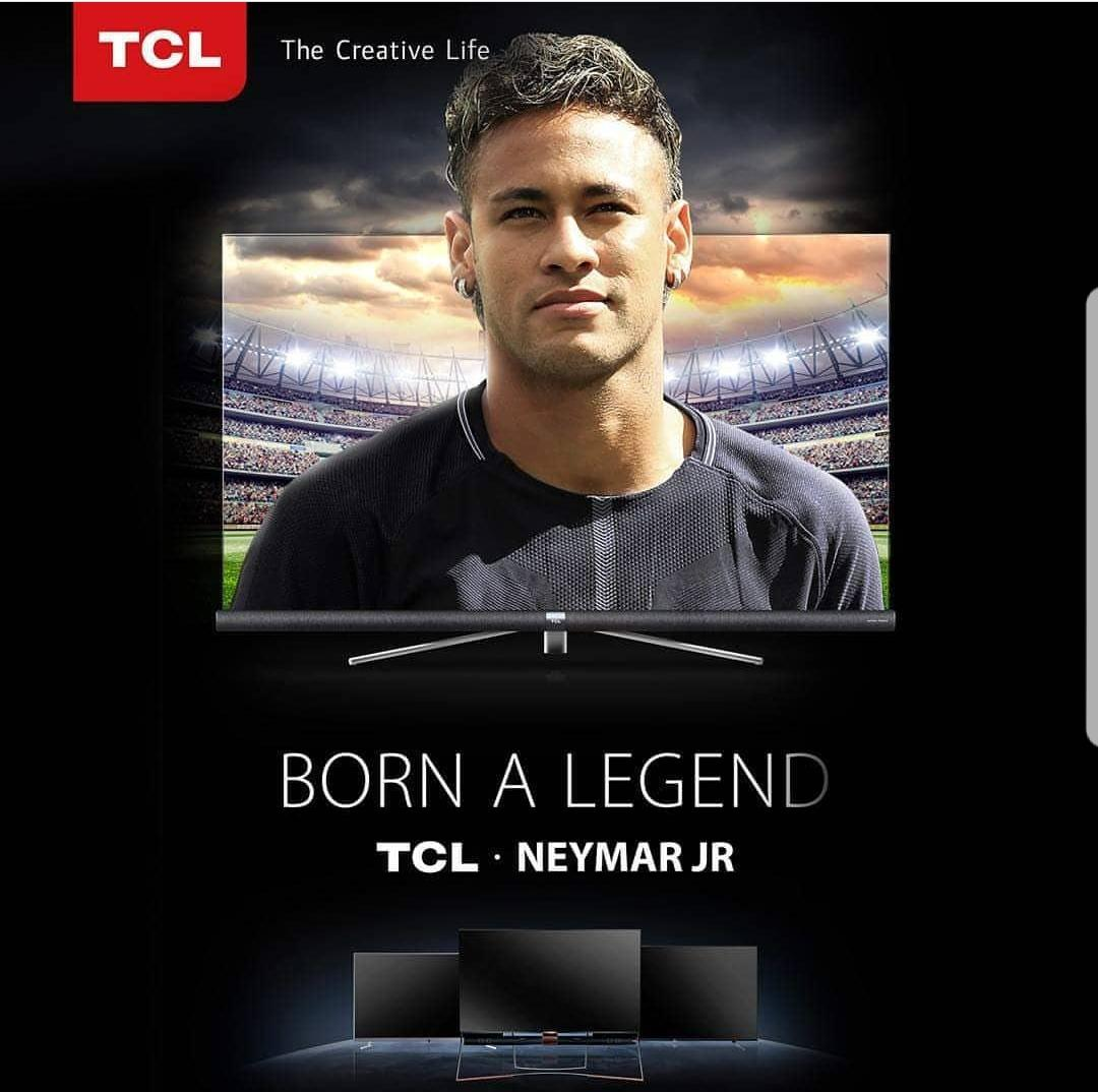 Chinese Electronic Giant TCL Signs Football Star NEYMAR as Brand Ambassador .