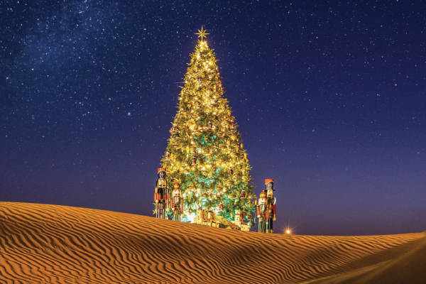 Experience a festive fairytale with Bab Al Shams Desert Resort