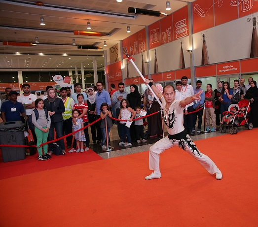 Beijing Circus thrills crowds at ongoing 35th Sharjah International Book Fair running up to Nov 12th!