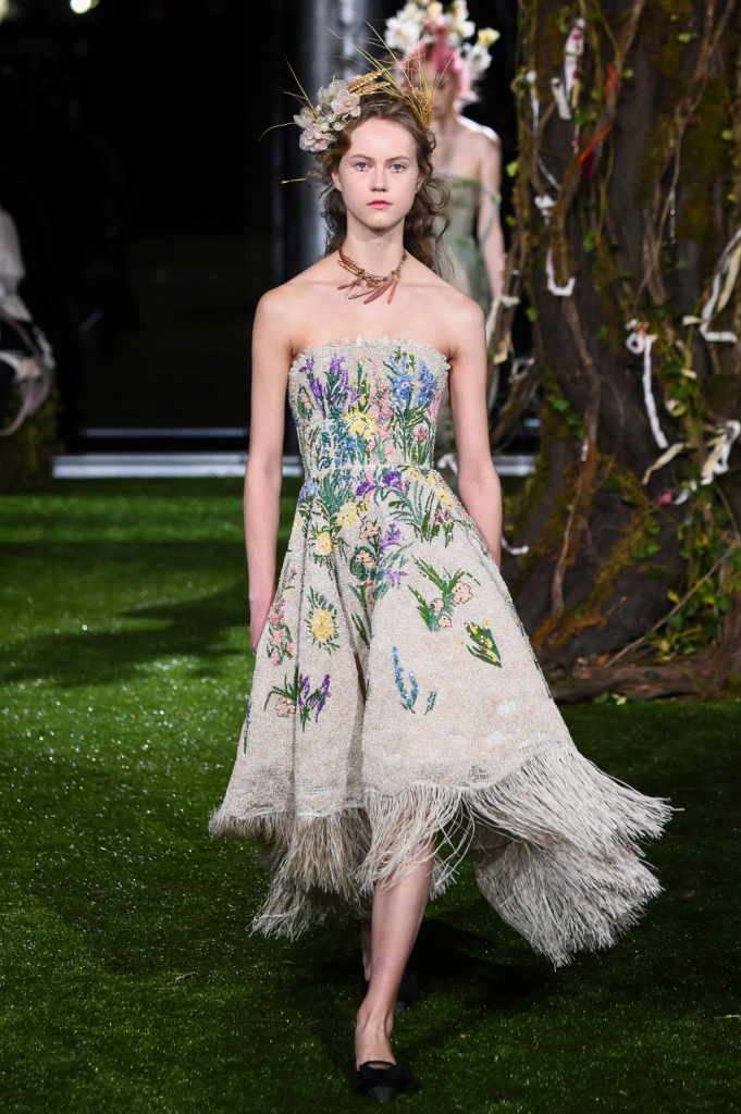 Dior Couture show in Tokyo
