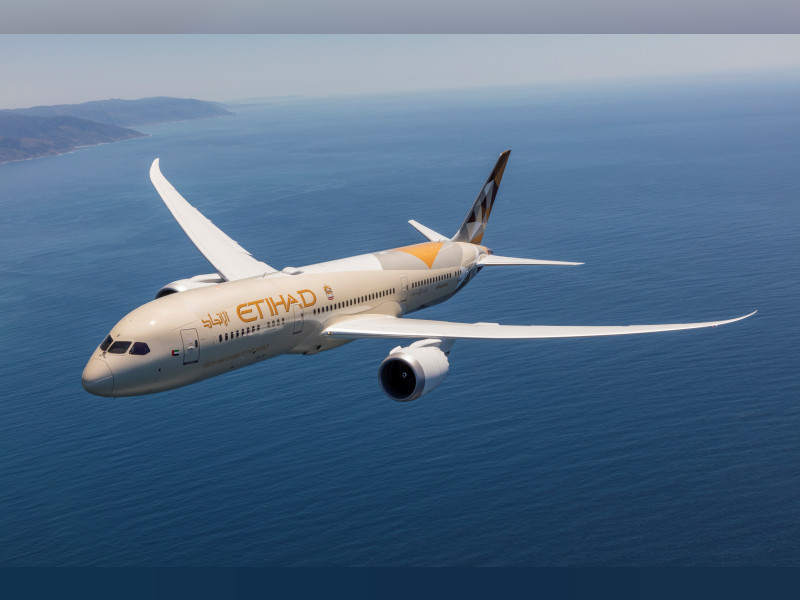 Etihad Airways most punctual airline in Middle East, figures show
