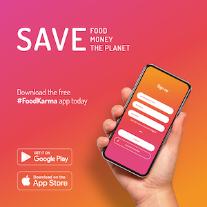 Join the Food Rescue Revolution & Download the FoodKarma App this March