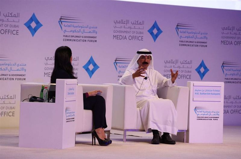 Good economic ties create good diplomatic relations points out Sultan bin Sulayem, Group Chairman and CEO of DP World at PDGCF