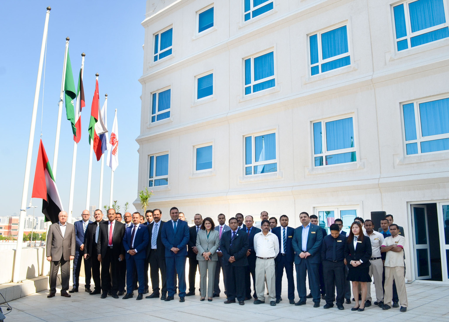 Al Bustan Centre and Residence pays tribute to the brave sons on Commemoration Day