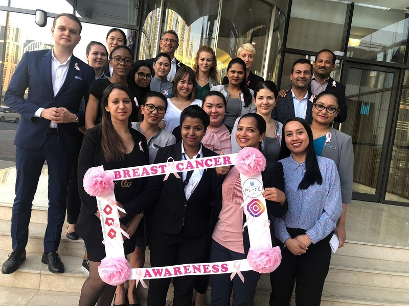 Millennium Place Marina partners with Aster Medical Center to raise breast cancer awareness