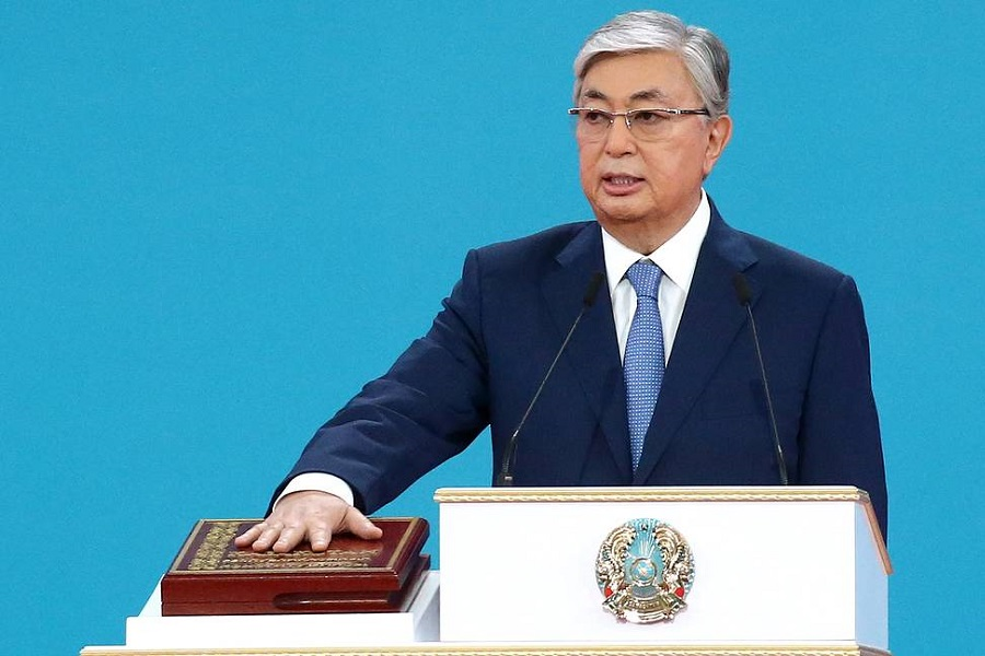 Tokayev wins Kazakhstan's presidency with 70.76 percent of vote, official preliminary results say