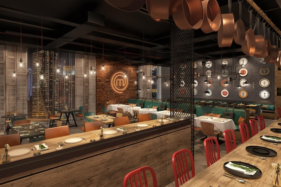 World's first masterchef the TV experience restaurant to open in Millennium Place Marina this April