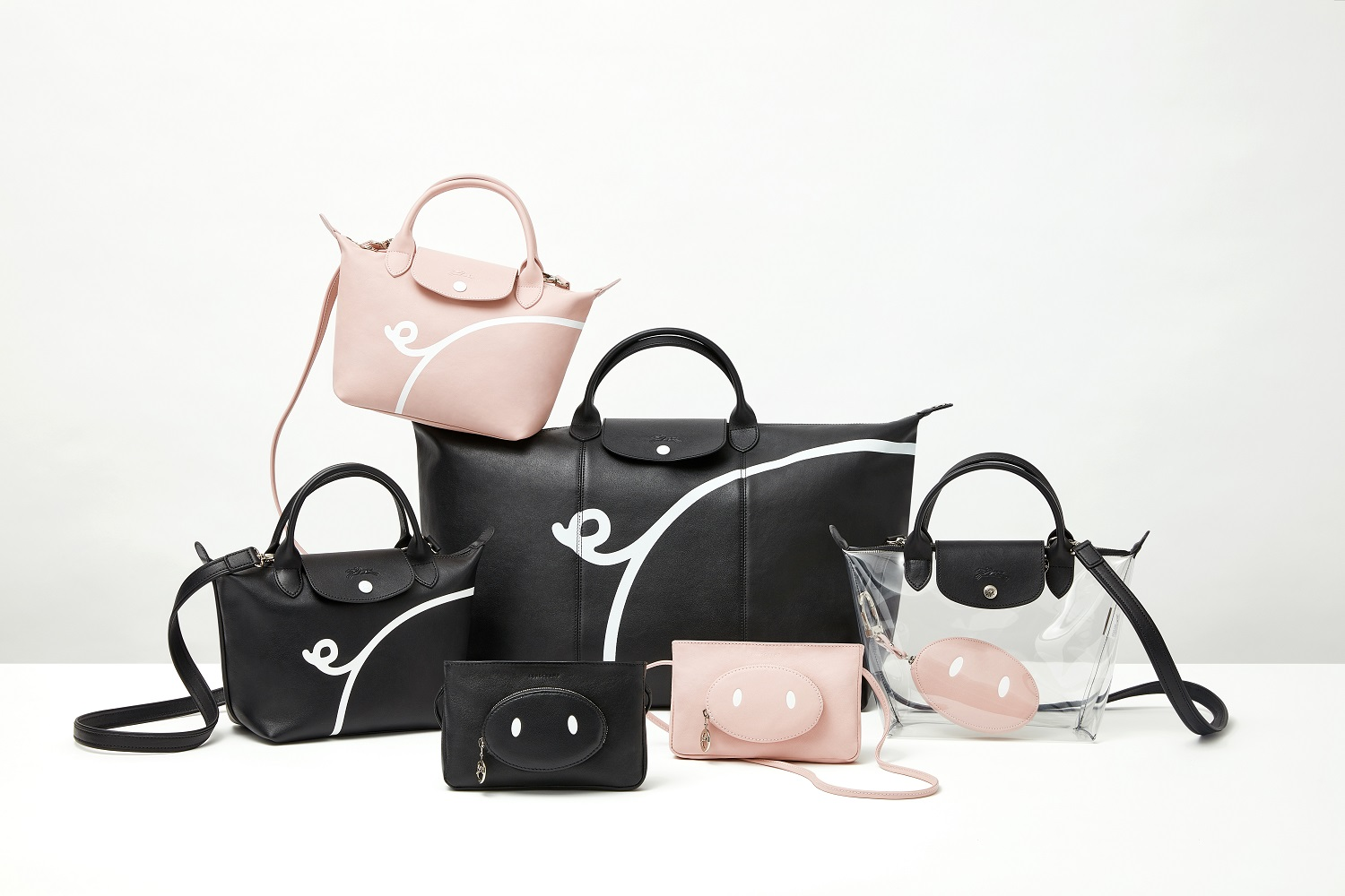 MR. BAGS X LONGCHAMP 庆祝中国猪年