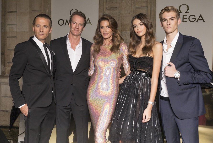 OMEGA announces Kaia and Presley Gerber as its newest brand ambassadors
