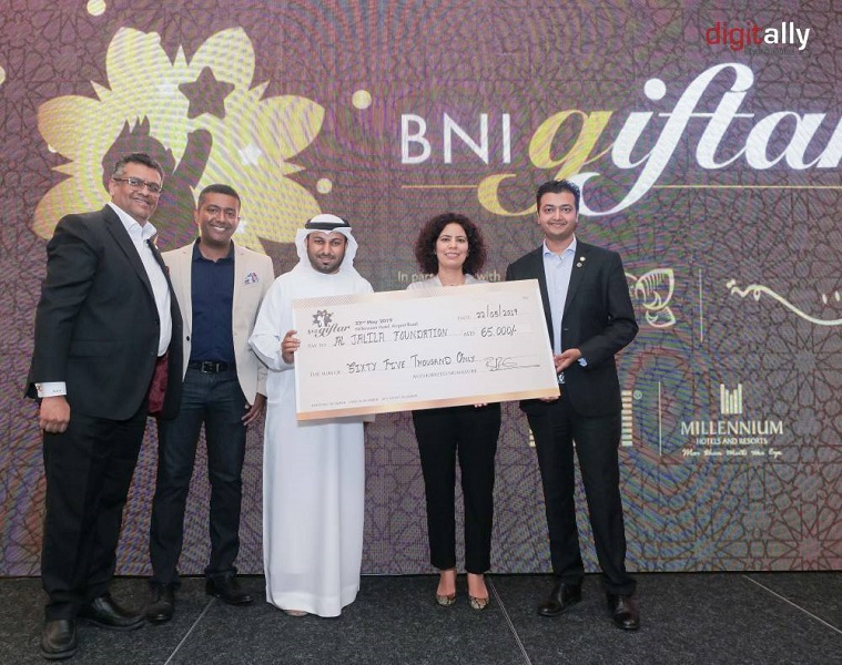 BNI UAE partners with Millennium Hotels & Resorts MEA to raise funds for Al Jalila Foundation's basma Campaign
