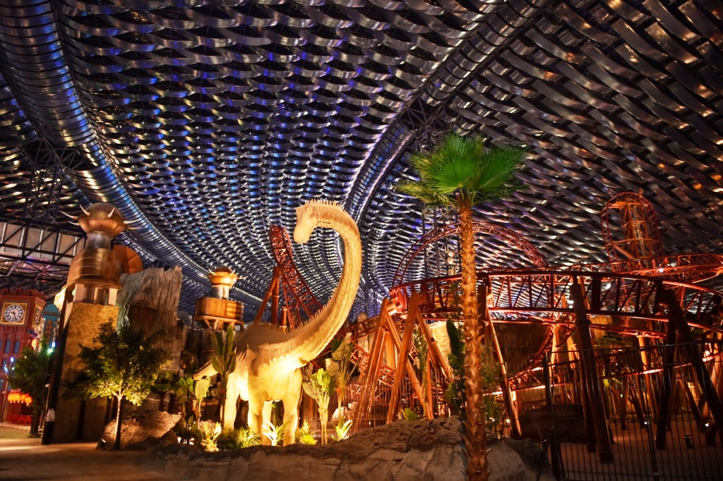 World's largest indoor theme park in Dubai