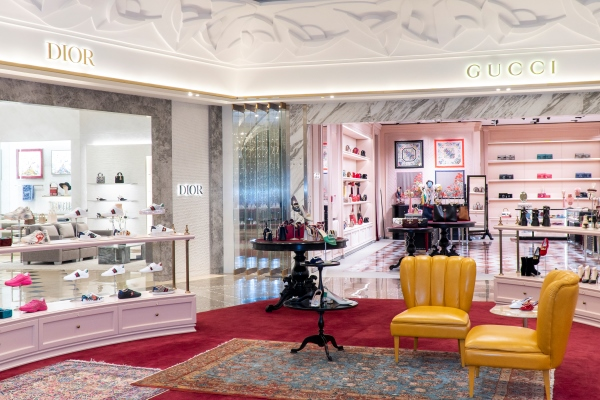 Parisian Chic and Iconic Brands at Galeries Lafayette