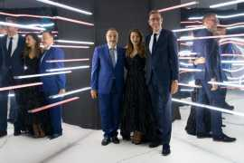 HUGO BOSS celebrated the re-opening of the BOSS Store in Dubai