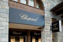 Chopard boutique in Courchevel