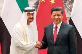 他一直和中国站在一起