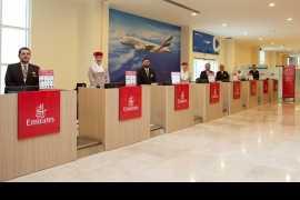 阿联酋航空公司在迪拜为邮轮乘客开设了首个远程值机终端