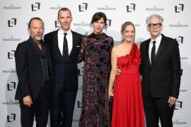 积家(Jaeger-LeCoultre)在第75届威尼斯国际电影节开幕式红毯亮相