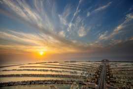 В Дубае открылась смотровая площадка The View at The Palm