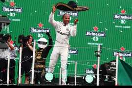 Lewis Hamilton wins 6th F1 championship to move closer to all-time legend Michael Schumacher