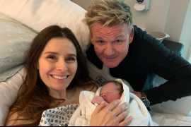 Гордон Рамзи стал отцом в пятый раз и показал ребенка