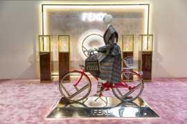芬迪在迪拜发布RUN AWAY钻石腕表