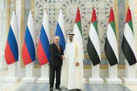 Владимир Путин прибыл с государственным визитом в ОАЭ (Обновляется)