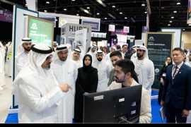 哈立德·本·穆罕默德·本·扎耶德出席阿布扎比金融科技峰会开幕仪式