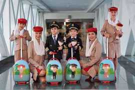 阿联酋航空商店推出儿童制服