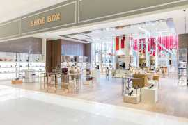 Galeries Lafayette has opened the ''Shoe Box''