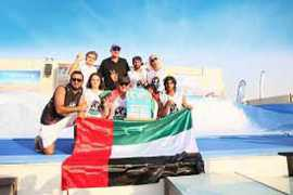 Team UAE clinches the Gold at the World Flowboarding Championships 2015