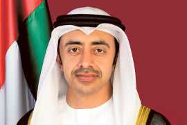 UAE calls upon allies to help confront regional threats through peaceful means
