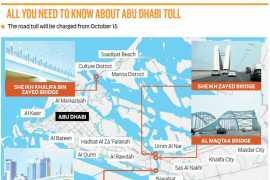 С 15 октября в Абу-Даби появятся платные автодороги
