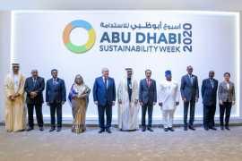 Мухамед Бин Заид посетил церемонию открытия Недели устойчивого развития