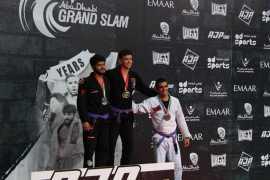 Мастера джиу-джитсу из ОАЭ завоевали 48 медалей на турнире «Большой Шлем Абу-Даби» в Москве