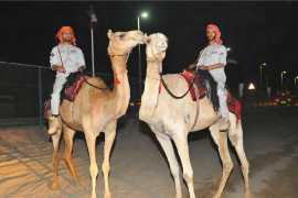 Полиция Абу-Даби организовала патрулирование на верблюдах