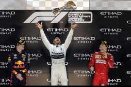 Шестикратный чемпион Формулы 1 Льюис Хэмилтон стал победителем Гран-при Абу-Даби 2019 (Видео)