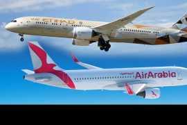 Авиакомпании Etihad и Air Arabia запустят первый лоукостер в Абу-Даби