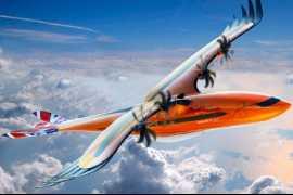 Airbus представил концепт уникального «пернатого» пассажирского самолета