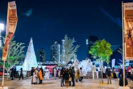 Al Seef's Snow Park spreads festive cheer