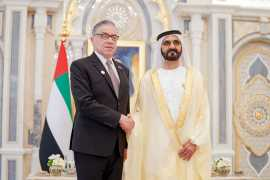 Шейх Мухаммед Бин Рашид принял верительные грамоты посла РФ в ОАЭ