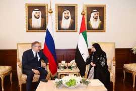 Amal Al Qubaisi invites Chairman of Russian State Duma to UAE