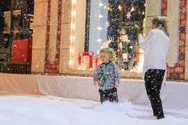 Снежные приключения в парке Аль Монтаза в Шардже