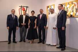 Выставка «Экспрессия духа. Николай Шин» открылась в Дубае