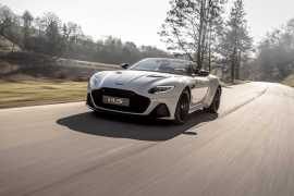 Aston Martin unveils its fastest convertible in the company's history