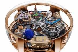 Швейцарский бренд Jacob & Co. выпустил часы ко Дню Победы