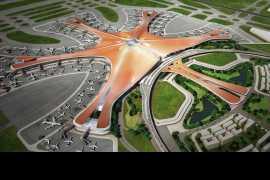 В Китае открылся крупнейший международный аэропорт Дасин, построенный по проекту Захи Хадид