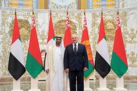 Mohamed bin Zayed state visit to Belarus