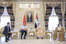 President of Belarus arrives in UAE