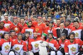 Сборная ОАЭ по хоккею завоевала бронзовую медаль в Беларуси